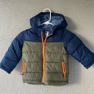 Boys Old Navy Puffer Coat 3T